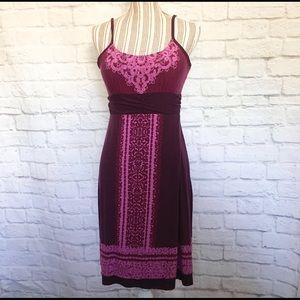 Athleta Size Medium Purple Activewear Dress